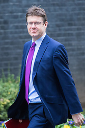 Downing Street, London, February 7th 2017. Business Secretary Greg Clark arrives in Downing Street for the weekly UK cabinet meeting.