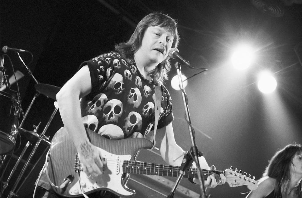 ALLENTOWN - JUNE 17: Guitarist Rick Derringer performs at Acorn Hotel on June 17, 1994 in Allentown, Pennsylvania. (Photo by Lisa Lake)