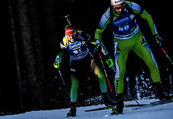Jakov Fak (SLO) in action during the Men 10km Sprint at day 6 of IBU Biathlon World Cup 2018/19 Pokljuka, on December 7, 2018 in Rudno polje, Pokljuka, Pokljuka, Slovenia. Photo by Vid Ponikvar / Sportida