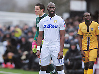 Football - 2016 / 2017 FA Cup - Fourth Round: Sutton United vs. Leeds United<br /> <br /> Souleyman Doukara of Leeds at Gander Green Lane.<br /> <br /> COLORSPORT/ANDREW COWIE