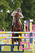Tess Heutiere Mili ridden by Didier Willefert Adc in the Equi-Trek CCI-4* Show Jumping during the Bramham International Horse Trials 2019 at Bramham Park, Bramham, United Kingdom on 9 June 2019.
