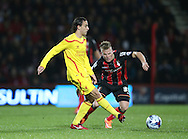 Lazar Markovic during the Capital One Cup match between Bournemouth and Liverpool at the Goldsands Stadium, Bournemouth, England on 17 December 2014.