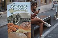 Advertising of street food
