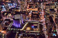 Nathan Phillips Square feat. New City Hall (left) & Old City Hall (center)