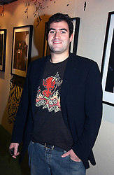 ZAFAR RUSHDIE at a party to launch the One T-Shirt by Edun held at Harvey Nichols, Knightsbridge, London on 18th October 2006.<br />
