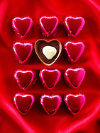 """"""" I love you """" chocolates stock photos for Valentines or any love message. The perfect """"I love you"""" stock image. Ready to cut out from Funky Stock Photos library."""