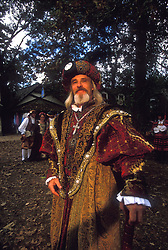 Stock photo of a man in time period clothing at the Texas Renaissance Festival in Plantersville Texas