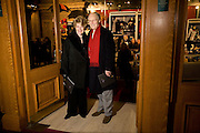 MR. AND MRS. NICHOLAS PARSONS, Cirque de Soleil London premiere of Quidam. Royal albert Hall. 6 January 2009