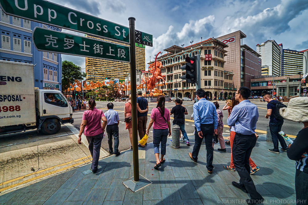 Chinatown Point, Upper Cross Street & New Bridge Road