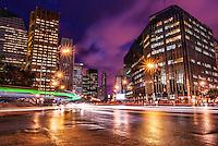 Buenos Aires - Avenida Leandro Alem, CBD