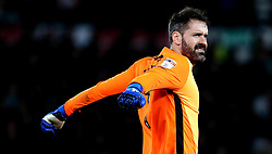 Scott Carson of Derby County - Mandatory by-line: Robbie Stephenson/JMP - 31/03/2017 - FOOTBALL - iPro Stadium - Derby, England - Derby County v Queens Park Rangers - Sky Bet Championship