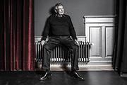 Portrait von Charles Lewinsky am 13. Maerz 2019 in Zuerich/ Rigiblick.<br /> Photo Siggi Bucher