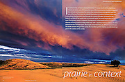PRODUCT: Magazine<br /> TITLE: Prairie in Context<br /> CLIENT: Prairies North