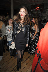 The MARCHIONESS OF CHOLMONDELEY at a party to celebrate the 1st anniversary of Alice Temperley's label held at Paradise, Kensal Green, London W10 on 25th November 2010.