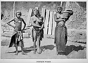 Chiboque Women From the book ' Missionary travels and researches in South Africa ' by Livingstone, David, 1813-1873; Arnot, Fred. S. (Frederick Stanley), 1858-1914; Published in London by J. Murray in 1899