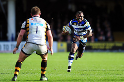Semesa Rokoduguni of Bath Rugby goes on the attack - Mandatory byline: Patrick Khachfe/JMP - 07966 386802 - 04/03/2017 - RUGBY UNION - The Recreation Ground - Bath, England - Bath Rugby v Wasps - Aviva Premiership.