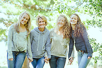 Alex Harris with sisters and mom portrait session.  ©2014 Karen Bobotas Photographer.  ©2014 Karen Bobotas Photographer