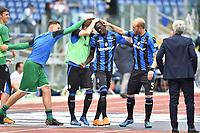 Musa Barrow Atalanta esultanza gol 0-1 goal celebration with Andrea Masiello <br /> Roma 06-05-2018 Stadio Olimpico Football Calcio Serie A 2017/2018 Lazio - Atalanta Foto Andrea Staccioli / Insidefoto