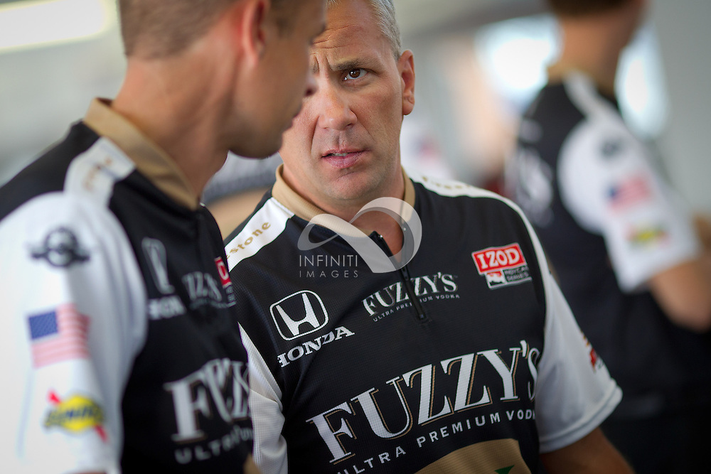 IZOD IndyCar Series team Panther Racing sponsored by Fuzzy's Ultra Premium Vodka at the Las Vegas Motor Speedway.<br /> Michael Hickey, Infiniti Images