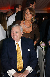 MARK BIRLEY and LADY ANNABEL GOLDSMITH at the annual Chelsea Flower Show dinner hosted by jewellers Cartier at the Chelsea Pysic Garden, London on 22nd May 2006.<br /><br />NON EXCLUSIVE - WORLD RIGHTS