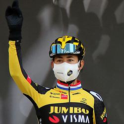 21-04-2021: Wielrennen: Fleche Wallonne: Huy <br />Anouska Koster