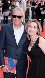 Edinburgh International Film Festival 2019<br /> <br /> Mrs Lowry And Son (World Premiere, closing night gala)<br /> <br /> Pictured: Martyn Hesford and Catrin Meredydd<br /> <br /> Alex Todd   Edinburgh Elite media