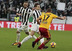 November 5, 2017 - Turin, Italy - Federico Bernardeschi during Serie A match between Juventus v Benevento, in Turin, on november 5, 2017  (Credit Image: © Loris Roselli/NurPhoto via ZUMA Press)