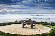 A View Of The Ocean At Powerhouse Park At Del Mar Beach