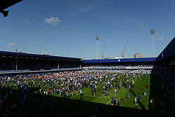 Pitch invasion at Loftus Road - Photo mandatory by-line: Dougie Allward/JMP - Mobile: 07966 386802 - 16/05/2015 - SPORT - football - London - Loftus Road - QPR v Newcastle United - Barclays Premier League