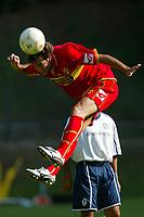 Roccaporena (PG) 31/7/2004 <br /> <br /> <br /> <br /> Ritiro precampionato FC Messina. Amichevole - Friendly Match. <br /> <br /> <br /> <br /> Messina - Selezione AIC 3-0 <br /> <br /> <br /> <br /> Nella foto: <br /> <br /> Alessandro Parisi Messina<br /> <br /> Photo Andrea Staccioli
