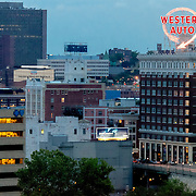 Downtown Kansas City and Western Auto Lofts