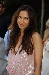 PADMA LAKSHMI at the annual Michele Watches Summer Party held in the gardens of Home House, 20 Portman Square, London W1 on 15th June 2006.<br />