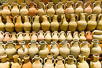 Hand crafted pottery, Djerba Island, Tunisia