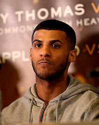 Gamal Yafai during the press conference at Sheffield Town Hall.