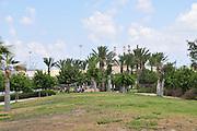 Israel, Haifa, The Kishon Park on the banks of the Kishon river