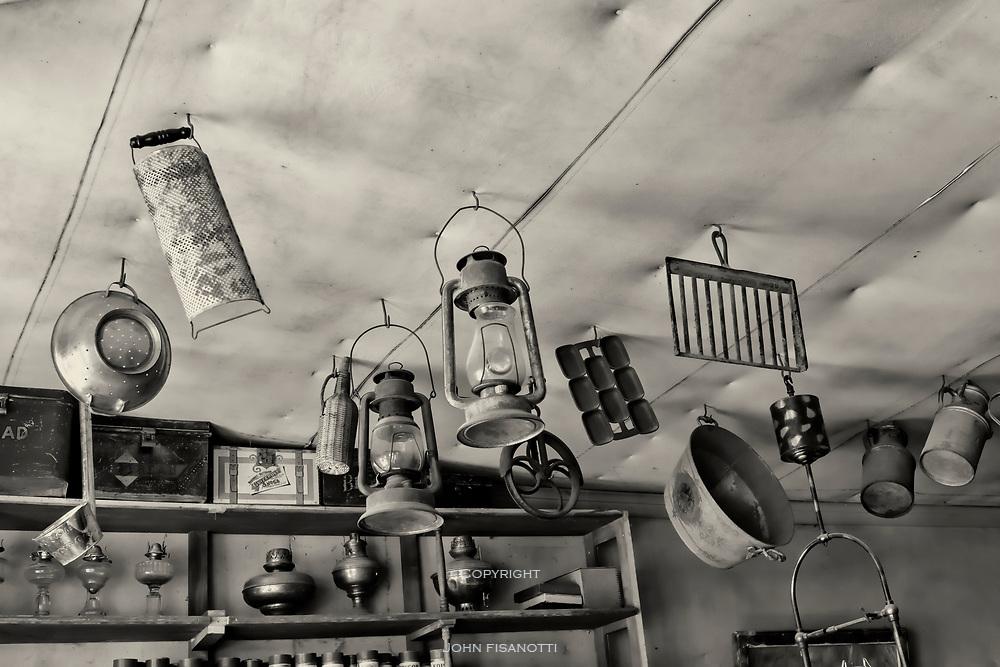 Shop in Virginia City, Montana