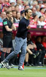 18.05.2019, Allianz Arena, Muenchen, GER, 1. FBL, FC Bayern Muenchen vs Eintracht Frankfurt, 34. Runde, Meisterfeier nach Spielende, im Bild Niko Kovac am Spielfeldrand // during the celebration after winning the championship of German Bundesliga season 2018/2019. Allianz Arena in Munich, Germany on 2019/05/18. EXPA Pictures © 2019, PhotoCredit: EXPA/ SM<br /> <br /> *****ATTENTION - OUT of GER*****