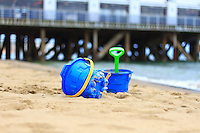 Bucket and spade, Summer holidays on the Isle of Wight