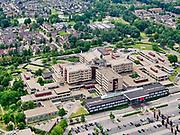 Nederland, Overijssel, Gemeente Almelo; 21–06-2020;  ZGT Almelo, ziekenhuis van de Ziekenhuisgroep Twente.<br /> ZGT Almelo, general hospital of the Twente Hospital Group.<br /> <br /> luchtfoto (toeslag op standaard tarieven);<br /> aerial photo (additional fee required)<br /> copyright © 2020 foto/photo Siebe Swart