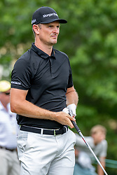 May 4, 2019 - Charlotte, NC, U.S. - CHARLOTTE, NC - MAY 04: Justin Rose hits from the 4th hole tee box during the third round of the Wells Fargo Championship at Quail Hollow on May 4, 2019 in Charlotte, NC. (Photo by William Howard/Icon Sportswire) (Credit Image: © William Howard/Icon SMI via ZUMA Press)