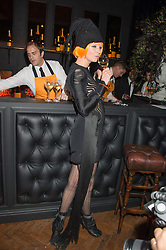OLIVIA INGE at the Veuve Clicquot Widow Series launch party hosted by Nick Knight and Jo Thornton MD Moet Hennessy UK held at The College, Central St.Martins, 12-42 Southampton Row, London on 29th October 2015.