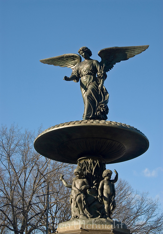Angel of the Waters in Central Park