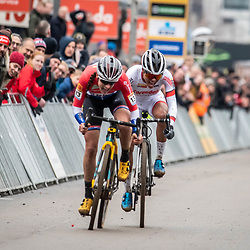 26-12-2019: Cycling: CX Worldcup: Heusden-Zolder: Lucinda Brand managed to take the win in a close sprint with Ceylin Alvarado