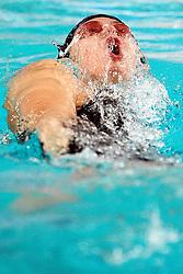 25.11.2010, Pieter van den Hoogenband Zwemstadion, Eindhoven, NED, Kurzbahn Schwimm EM, im Bild Elena GEMO 100m Backstroke.Eindhoven. // Eindhoven 25/11/2010 .European Short Course Swimming Championships, EXPA/ InsideFoto/ Staccioli+++++ ATTENTION - FOR USE IN AUSTRIA/AUT AND SLOVENIA/SLO ONLY +++++ / SPORTIDA PHOTO AGENCY