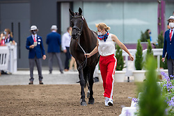 Kosterina Tatyana, RUS, Diavolessa V, 159<br /> Olympic Games Tokyo 2021<br /> © Hippo Foto - Dirk Caremans<br /> 23/07/2021