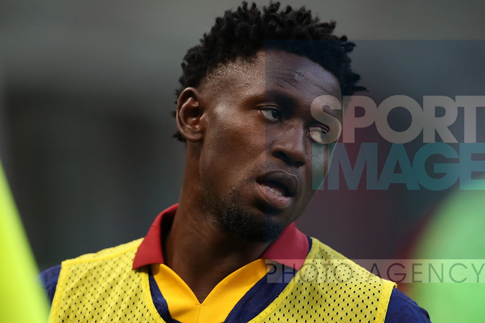 AS Roma's Guinean midfielder Amadou Diawara during the Serie A match at Giuseppe Meazza, Milan. Picture date: 28th June 2020. Picture credit should read: Jonathan Moscrop/Sportimage