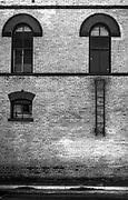 Ladder to nowhere. Hondo, Texas, USA