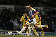 Cardiff's Michael Chopra scores his goal from a penalty. Coca Cola championship, Cardiff city v Preston NE at Ninian Park on Sat 6th Dec 2008. pic by Andrew Orchard,Andrew Orchard sports photography