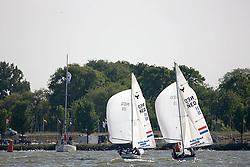 08_003794 © Sander van der Borch. Medemblik - The Netherlands,  May 24th 2008 . Day 4 of the Delta Lloyd Regatta 2008.