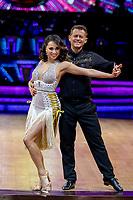 Mike Bushell & Katya Jonesk  during Strictly Come Dancing - The Live Tour at Arena Birmingham,King Edwards Road,Birmingham photo by Chris  Wayne